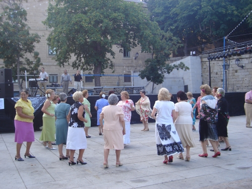 Fiesta del mantón. San Lorenzo de El Escorial
