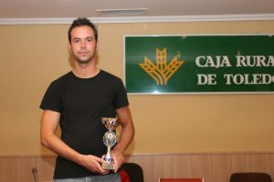 Sergio Bolado, premiado en Guadalajara. Club 64 Villalba
