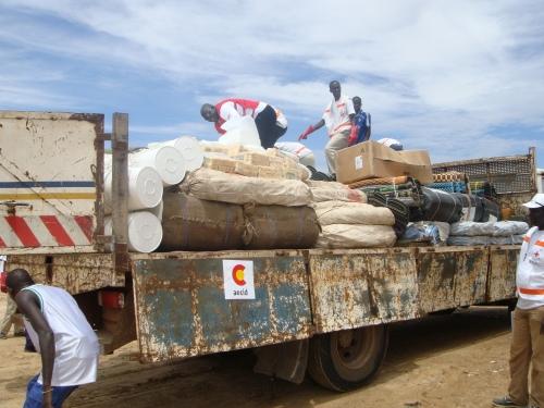Campaña de Cruz Roja en África Central