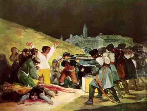 Goya. Los fusilamientos del 3 de mayo
