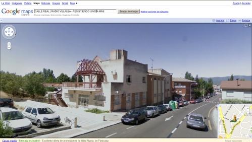 Calle Real Streetview Villalba