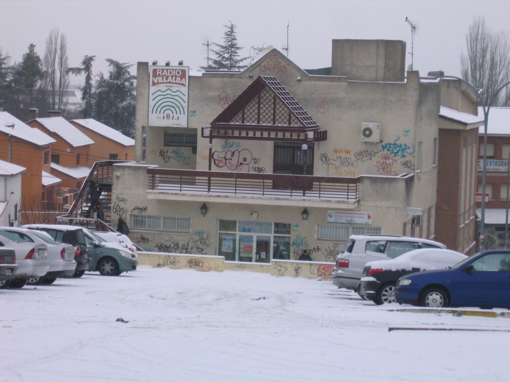 Nieve en radio villalba calle real for Calle prado manzano collado villalba
