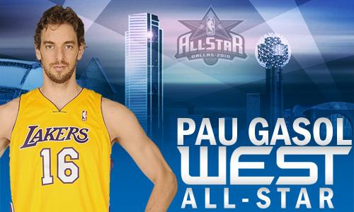 PAU GASOL ALL STAR NBA