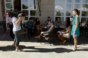 curso El periodismo en Tv. Alumnos Tv